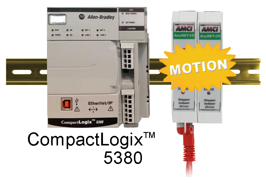 AMCI's ANG1(E) Stepper Controller for CompactLogix 5380