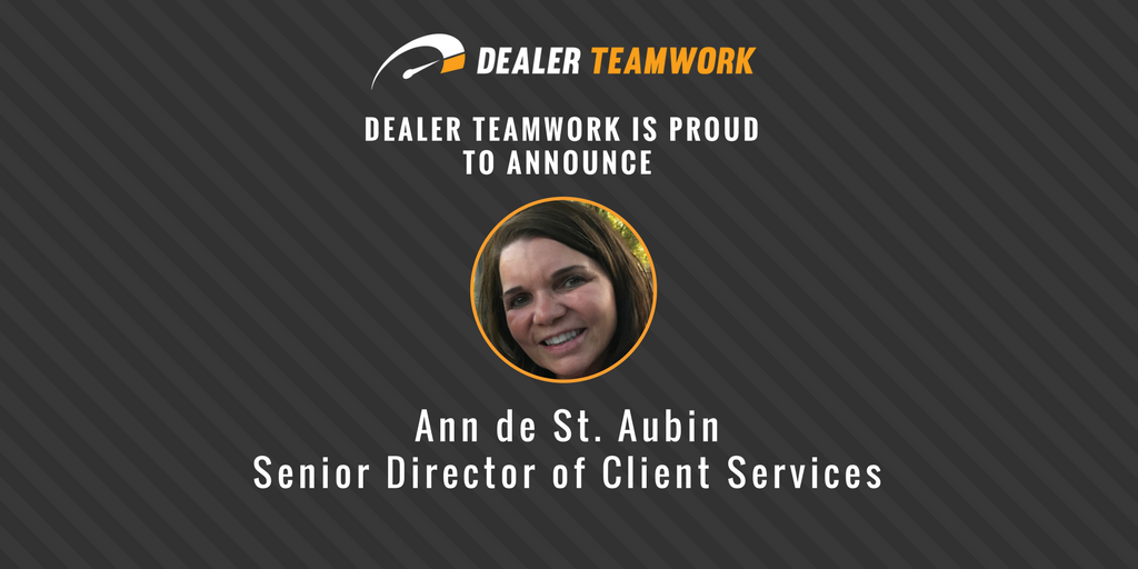 Ann de St. Aubin - Senior Director of Client Services