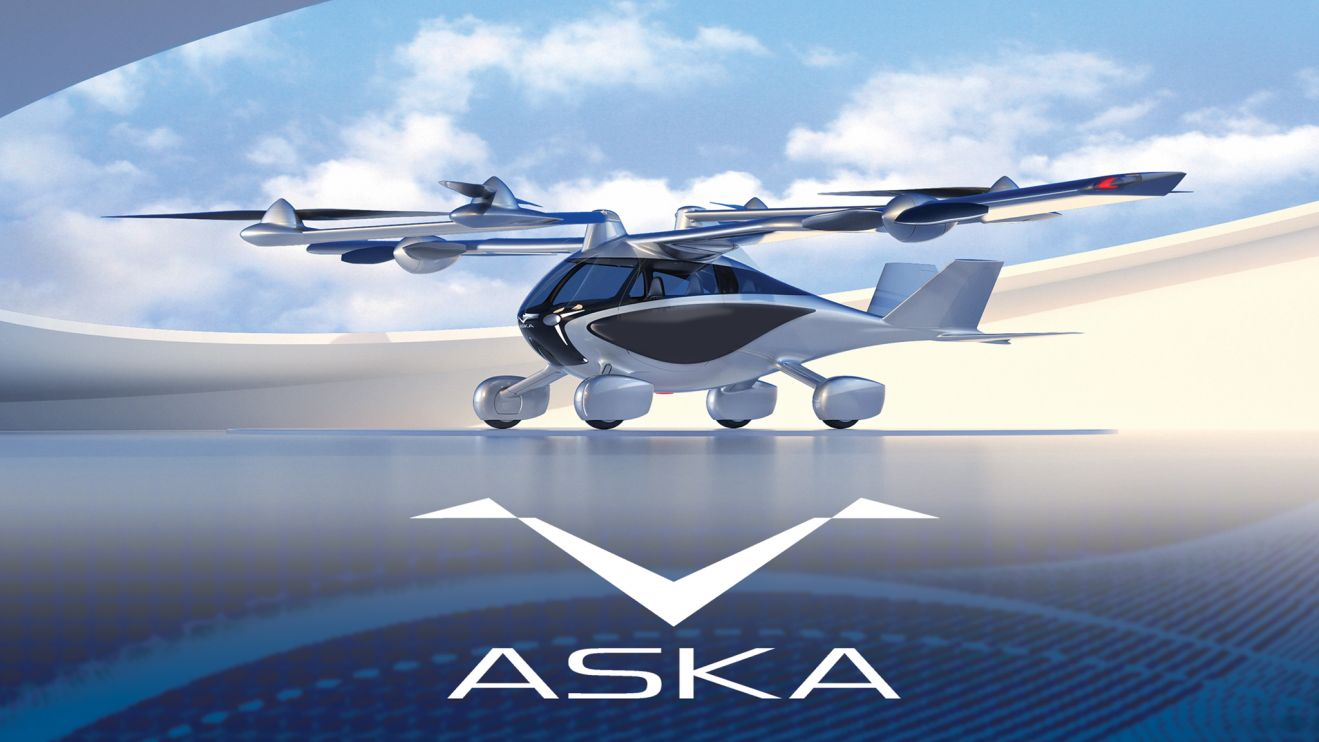 ASKA drive and fly vehicle for consumers