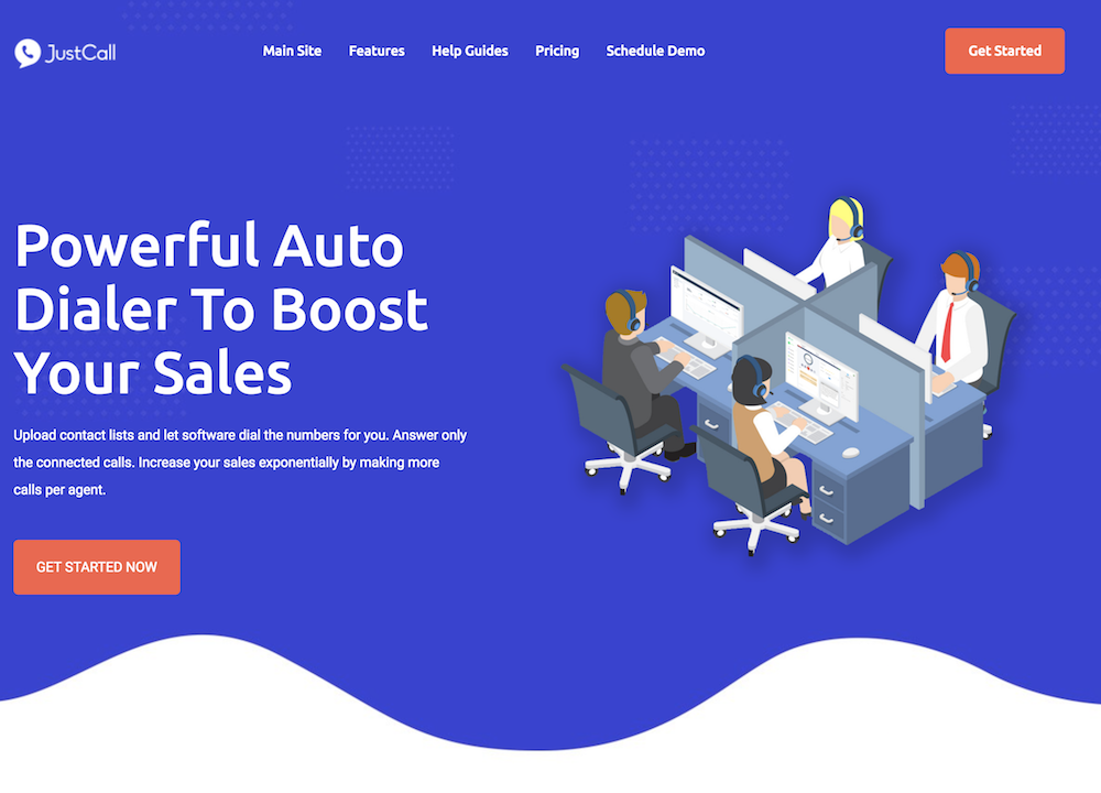 Auto Dialer Software for Sales and Telemarketing teams