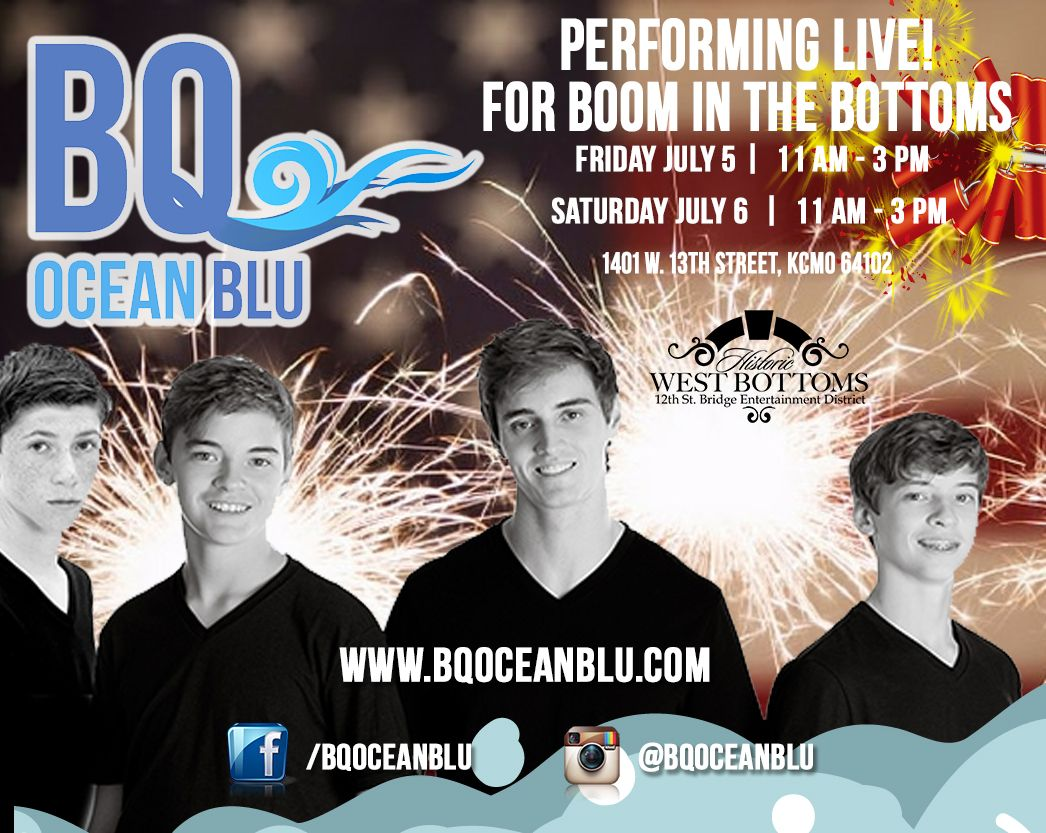 BQ Ocean Blu to Perform Friday and Saturday