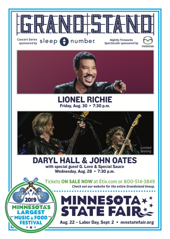 CCC Lionel Richie + Daryl Hall & John Oates