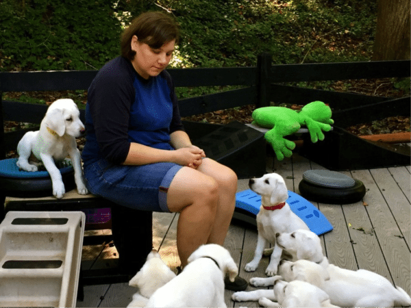 Christina Borders, Canine Scientist, Puppy Specialist