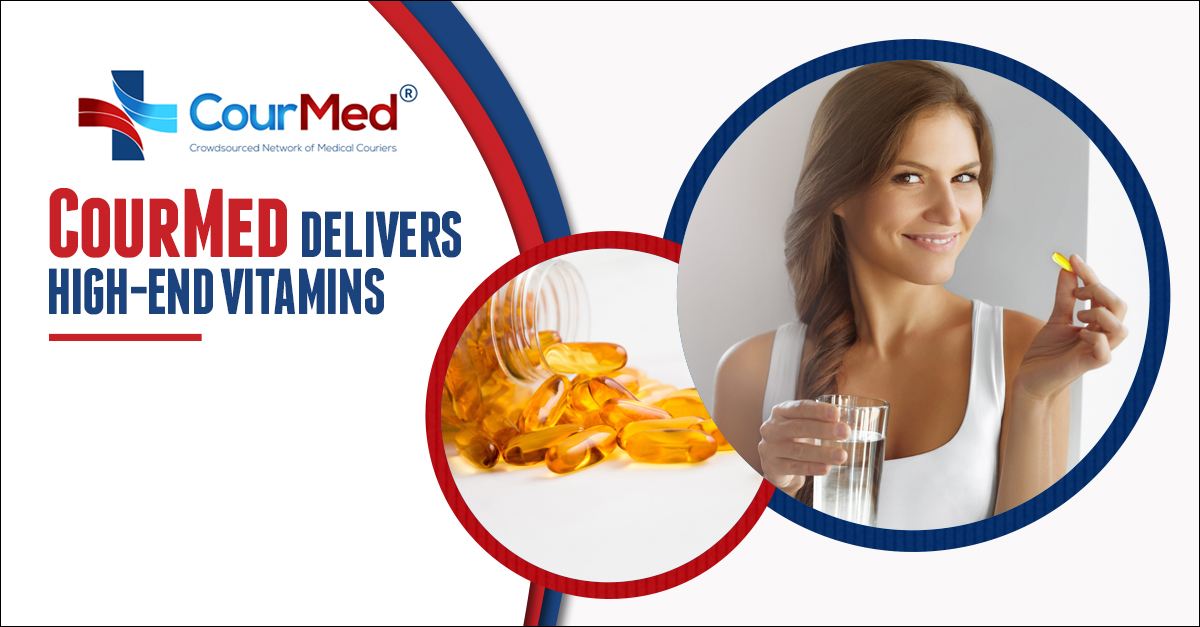 CourMed Delivers Vitamins