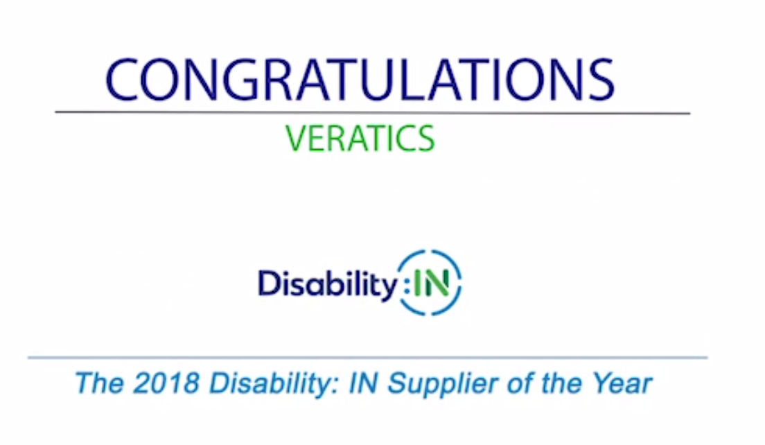 Disability:In Supplier of the Year