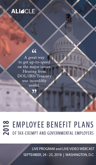 Employee Benefit Plans for Tax Exempt Employers 20