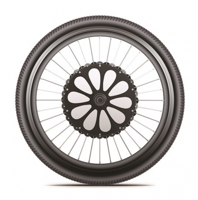 EzWheelie All in One Electric Bike Wheel