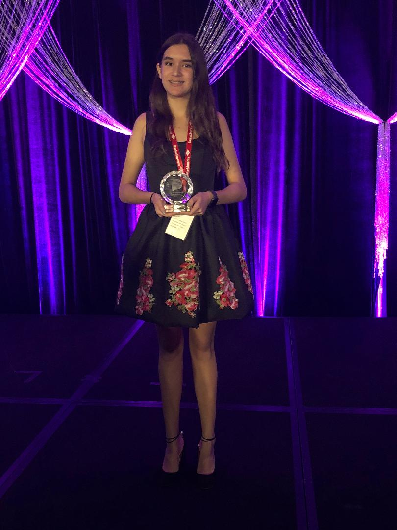 Gia Mar Ramos NCWIT AiC National Winner