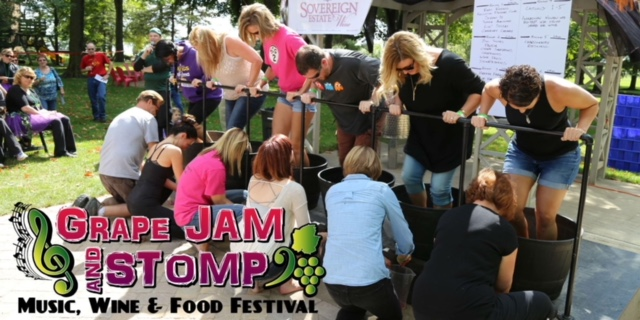 Grape Stomp Competition-The Winery at Sovereign Estate