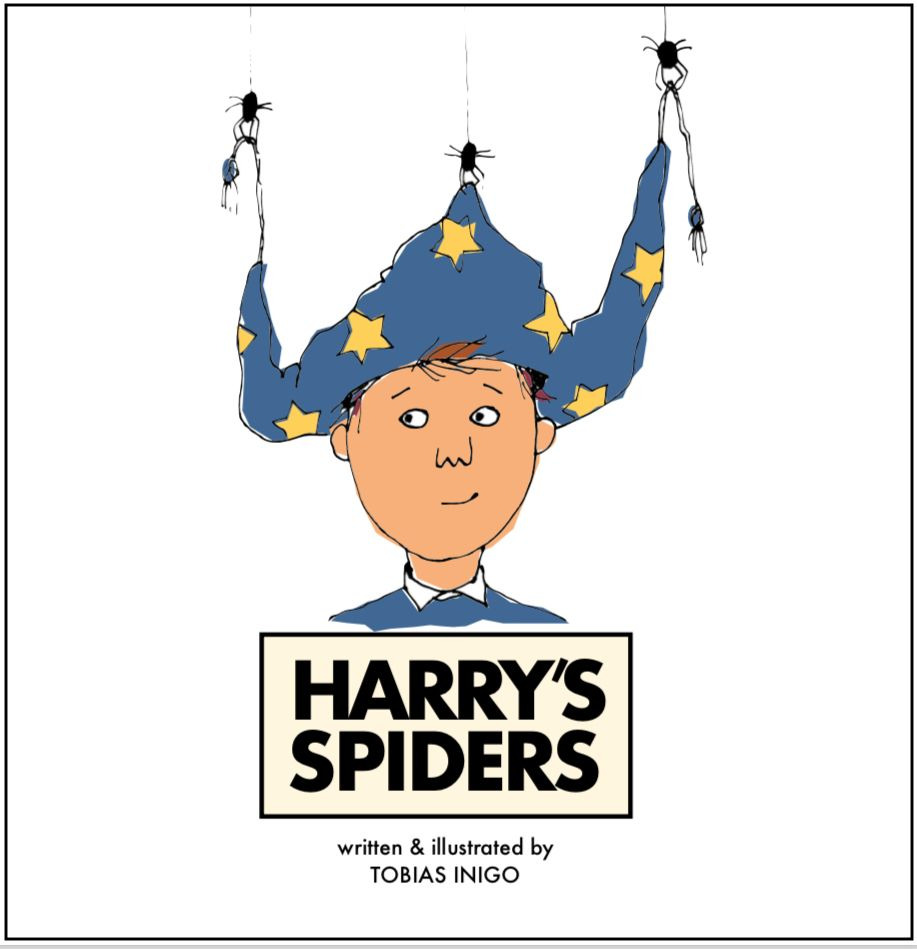 Harry's Spiders Cover Image