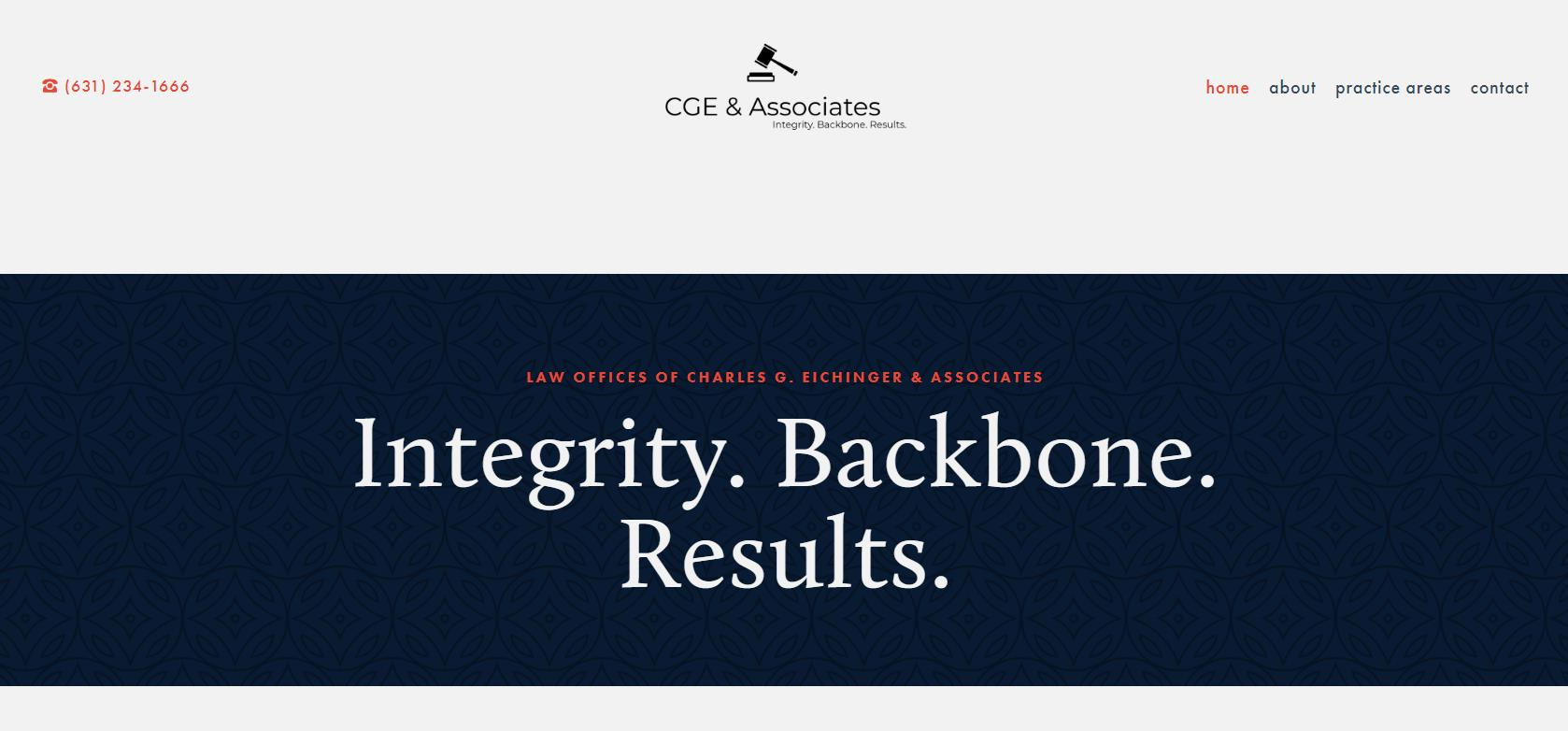 Law Offices of Charles G. Eichinger & Associates, P.C. Launches New Website