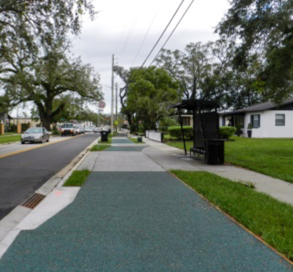 Porous Pave reduces storm water runoff, helping the city improve sustainability