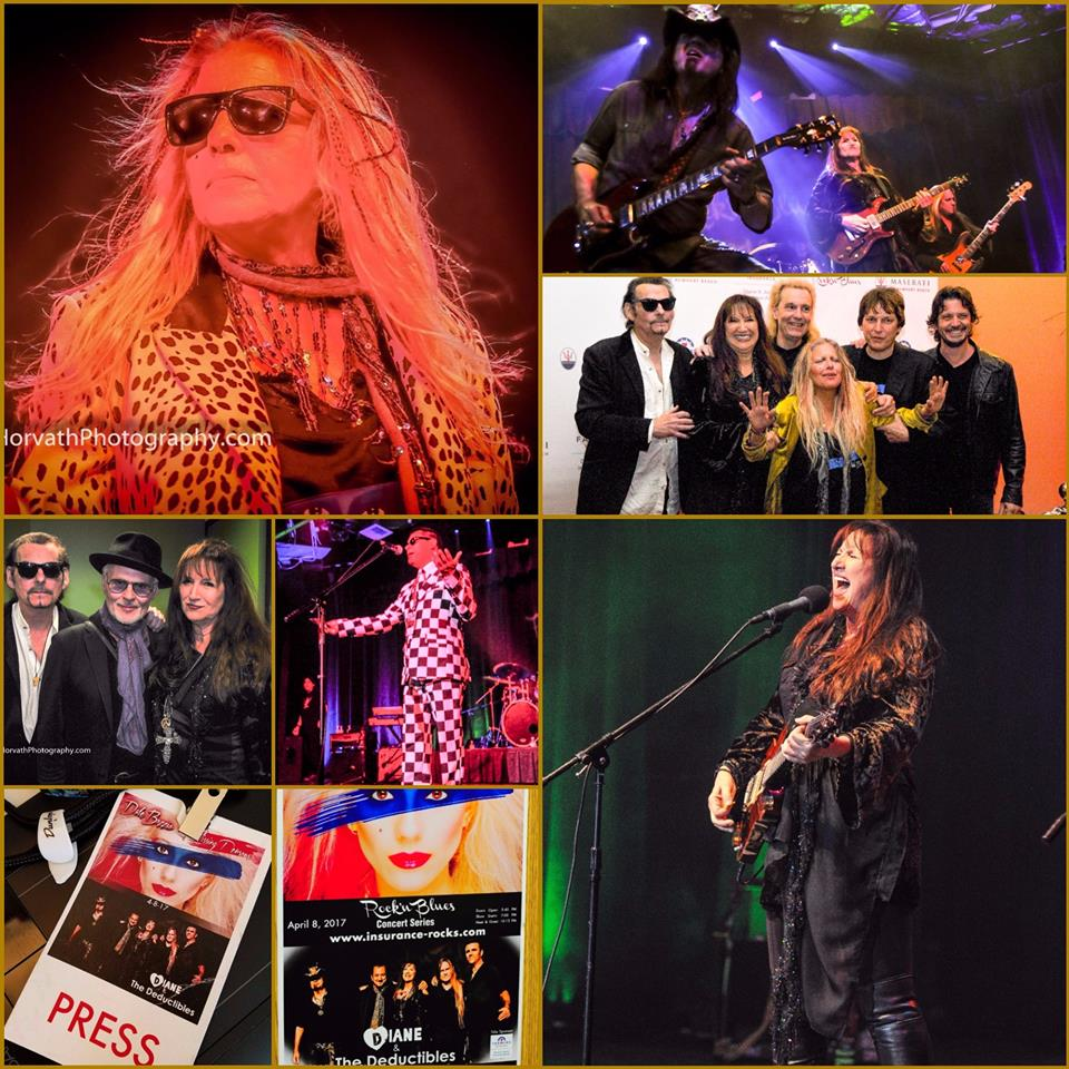 Previous Show Pictures with Missing Persons and Diane & The Deductibles