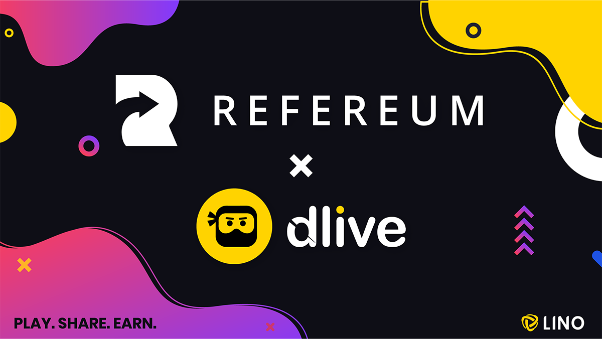 Refereum and DLive Official Partnership