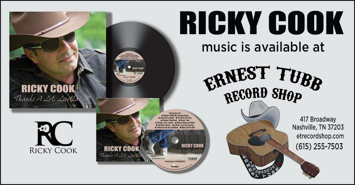 Ricky Cook-Ernest Tubb