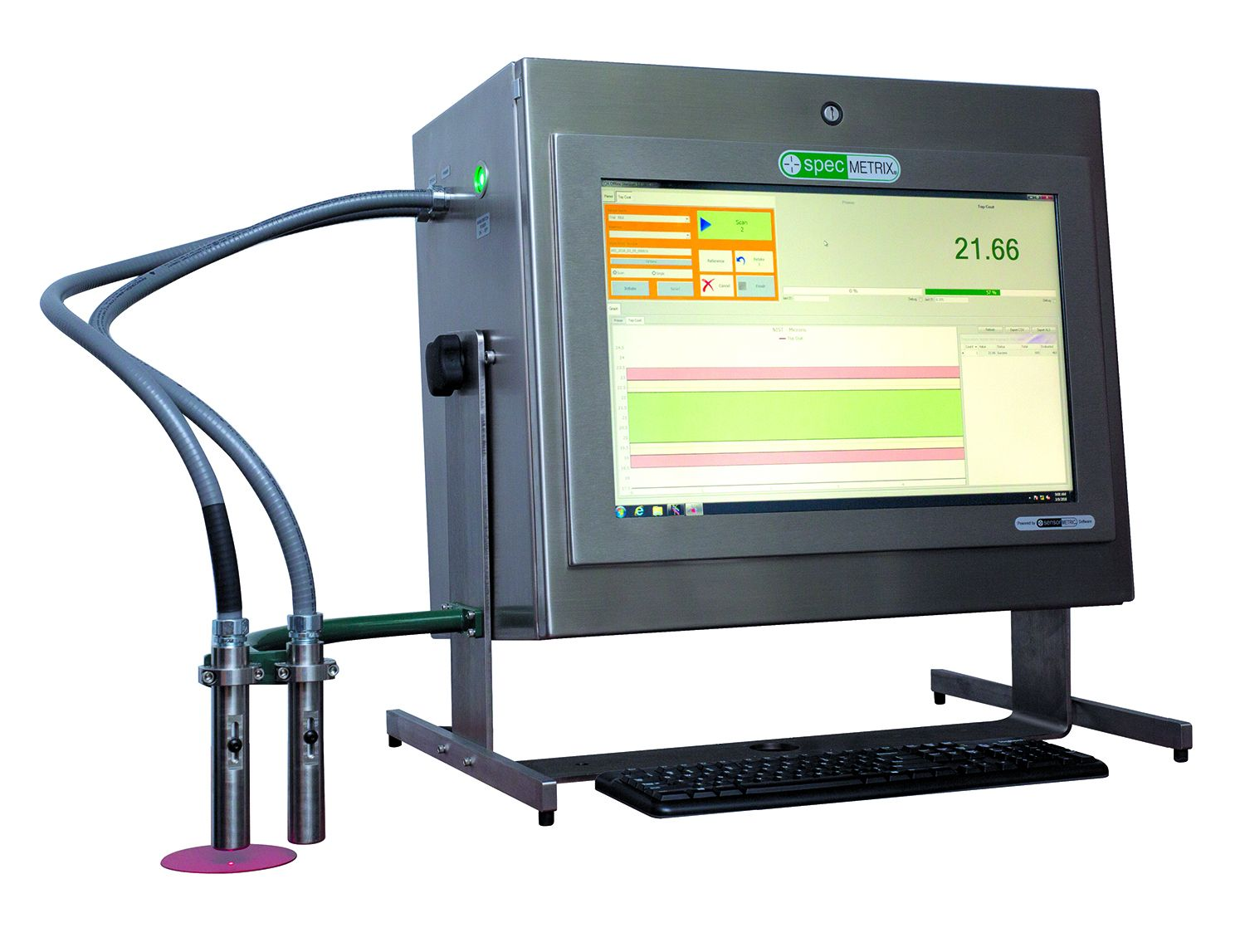 SpecMetrix DFT QA Lab Coating Measurement System