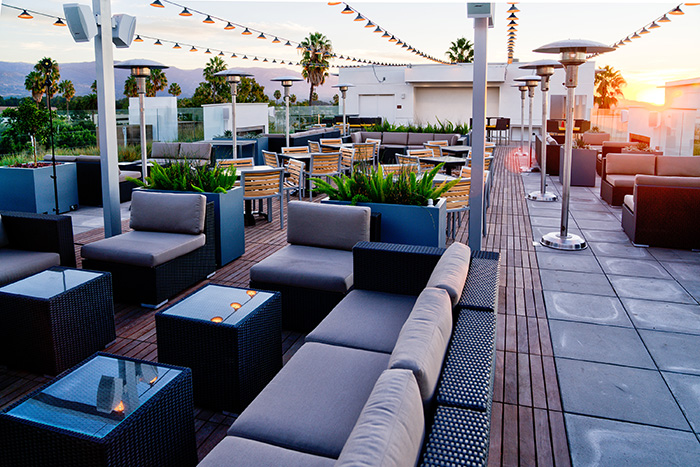 Spyglass Rooftop Bar in Santa Barbar/Goleta