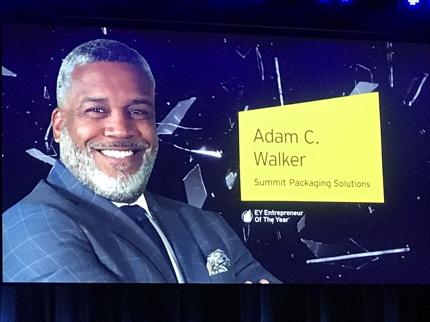 Summit Packaging CEO Adam C. Walker Named EY Entrepreneur of the Year, Southeast