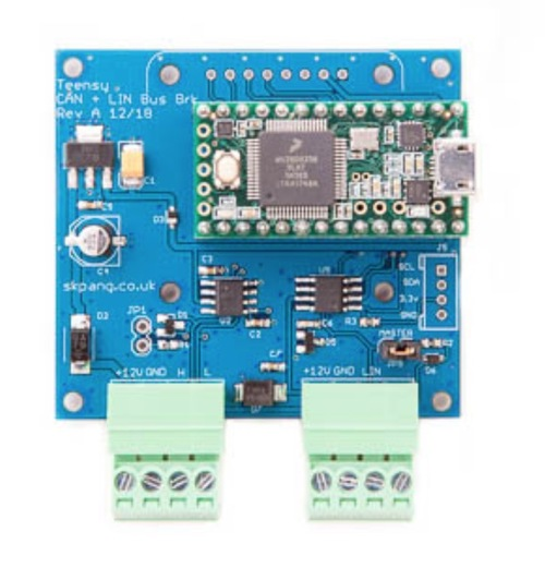 Teensy 3 2 Can Bus And Lin Bus Breakout Board