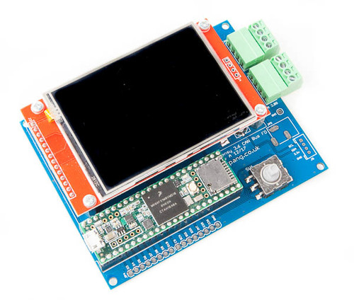 Teensy 3 6 Can Bus Fd Demo Board With 2 8 Tft Lcd