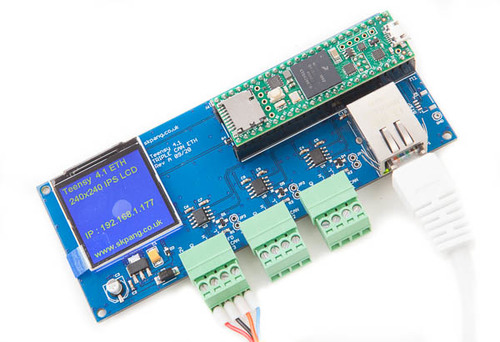 Teensy 4 1 Triple Can Board With 240x240 Lcd And E